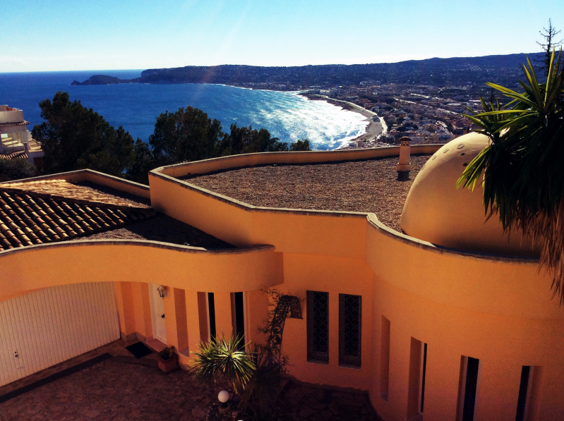 For Sale Contemporary 4 Bed Villa With Port Views in Javea