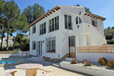 4 Bed Villa with Panoramic Views, Moraira