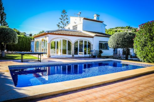 Luxury Villa with pool_javea property